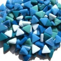 10mm Triangle - Aquaeous - 50g