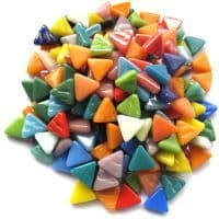 10mm Triangle - Carnival Mix - 50g