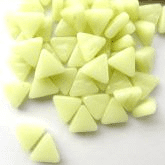 10mm Triangle - Pastel Green Gloss - 50g