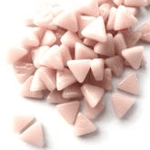 10mm Triangle - Rose Quartz Gloss - 50g