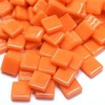 12mm Square Tiles - Apricot Gloss - 500g