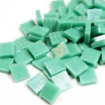 12mm Square Tiles - Emerald Green Matte - 50g