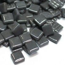 12mm Square Tiles - Grey Gloss - 50g