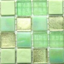 15mm Constellation Mix - Nuclear Green - 50 Tiles