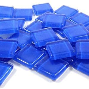 15mm Glossy Squares - Azure - 100g