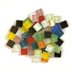 15mm Iridescent Squares - Anything Goes - 100g