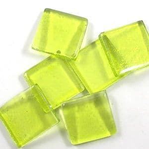 15mm Transparent Glass Squares