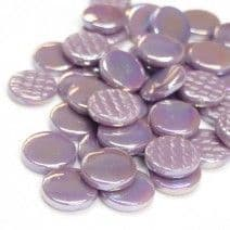 18mm Round - Lilac Pearlised - 500g