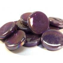 18mm Round - Purple Pearlised - 500g