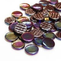 18mm Round - Treacle Toffee Pearlised - 50g