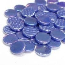 18mm Round - Wisteria Pearlised - 500g