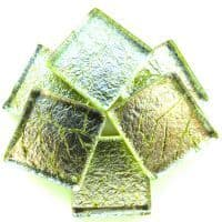 20mm Square Tile - Arsenic Foil - 49 Tiles