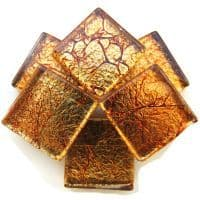 20mm Square Tile - Copper Foil - 49 Tiles