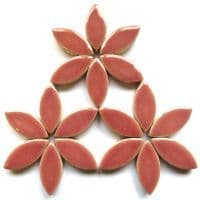 25mm Ceramic Petals - Dusty Rose - 500g