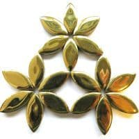 25mm Ceramic Petals - Gold - 50g