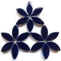 25mm Ceramic Petals - Indigo - 50g