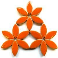 25mm Ceramic Petals - Orange - 50g
