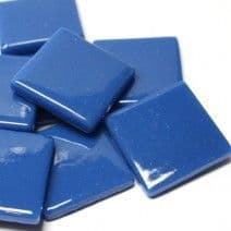 25mm Square Tile - Kingfisher Blue Gloss - 50g