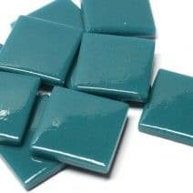 25mm Square Tile - Mistletoe Green Gloss - 50g