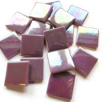 25mm Square Tile - Purple Pearlised - 50g