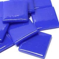 25mm Square Tile - Royal Blue Gloss - 50g