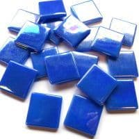 25mm Square Tile - Royal Blue Pearlised - 50g