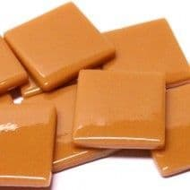 25mm Square Tile - Toffee Gloss - 50g