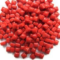 4.8mm Micro Glass Cube - Chilli Red - 100g