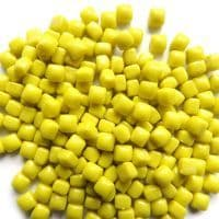 4.8mm Micro Glass Cube - Yellow - 10g