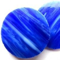 40mm Circle - Lapis Lazuli - 2 pieces