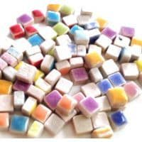 5mm Square Ceramic - Candy Mix - 25g