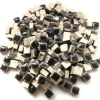 5mm Square Ceramic - Charcoal - 25g