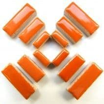 Ceramic Rectangle - Orange - 50g