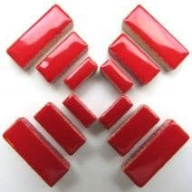 Ceramic Rectangle - Red - 50g