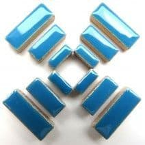 Ceramic Rectangle - Thalo Blue - 50g