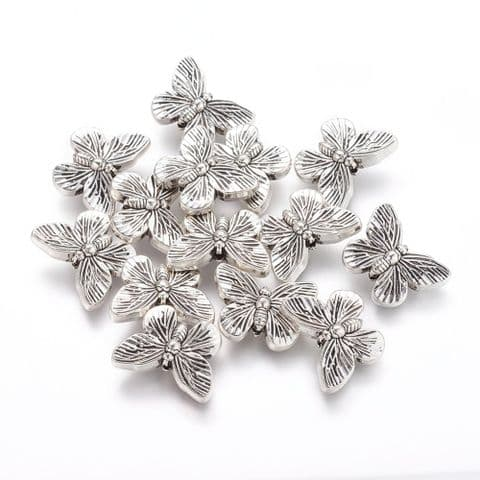 Charm - Butterfly - 10 pieces