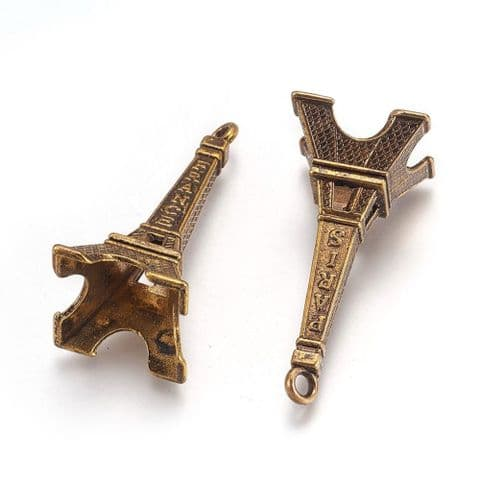 Charm - Eiffel Tower - 1 piece