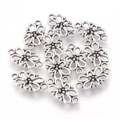 Charm - Flower -10 pieces