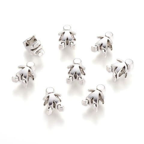 Charm - Human - 10 pieces