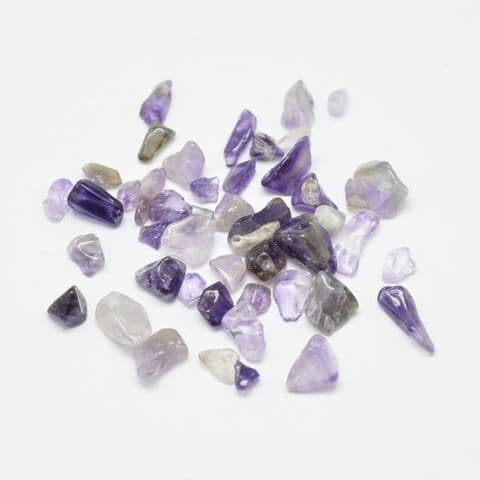 Chips - Natural Amethyst 1~30mm - 50g