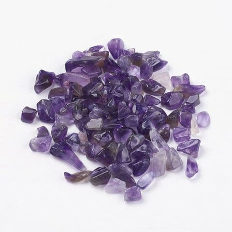 Chips - Natural Amethyst 5~16mm - 50g