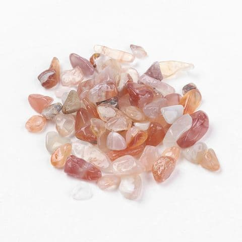 Chips - Natural Carnelian 5~8mm - 50g