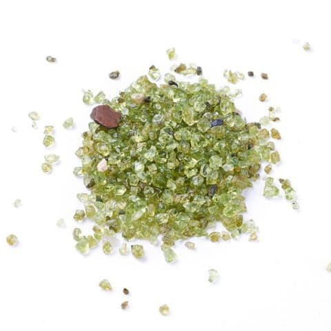 Chips - Natural Olive Quartz 2~6mm - 50g