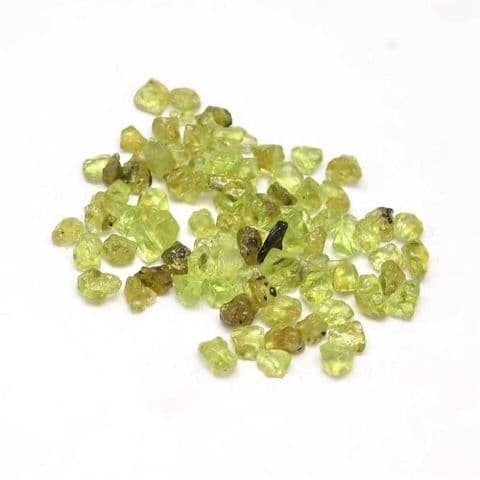 Chips - Natural Peridot 3~9mm - 50g