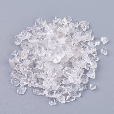 Chips - Natural Quartz Crystal 4~15mm - 50g