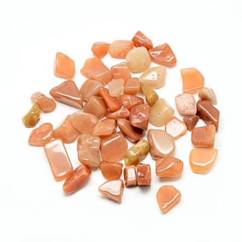 Chips - Natural Red  Aventurine 10~25mm - 50g
