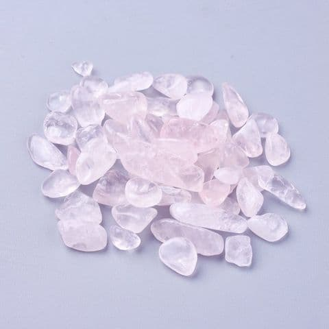 Chips - Natural Rose Quartz 8~22mm - 50g