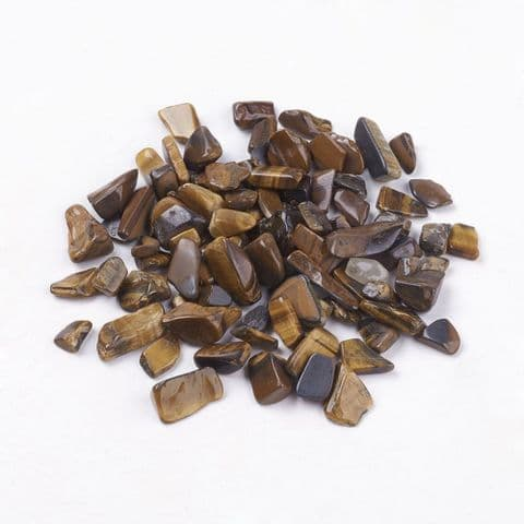Chips - Natural Tiger Eye 5~8mm - 50g