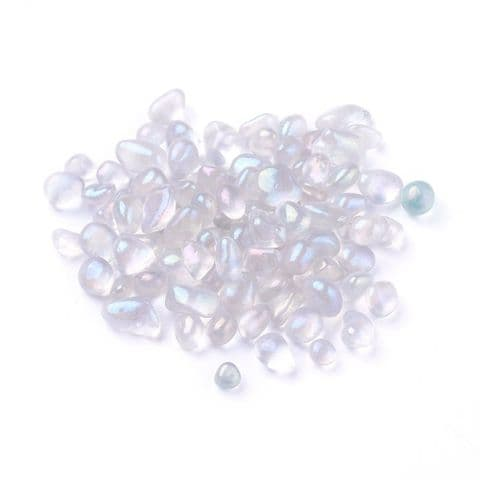Chips - Synthetic Moonstone 7~13mm - 50g