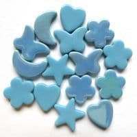 Glass Charm - Turquoise - 50g